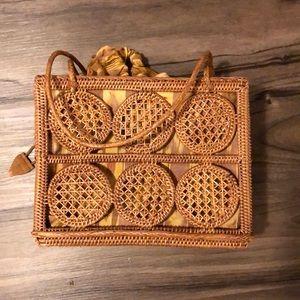 Handbags - Bali woven bag